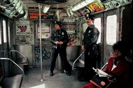 IdeaFixa » O metrô de Nova York (anos 70 e 80) | Valendo! | Scoop.it