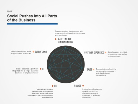 Social Pushes into All parts of the Business | Bulk Update | Scoop.it