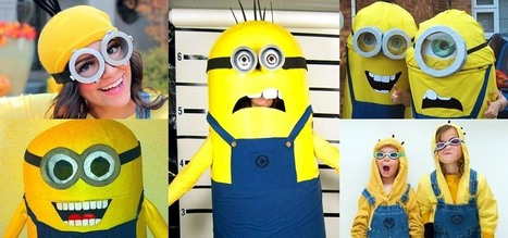 Bee-Do, Bee-Do! 5 Awesome DIY Minion Halloween Costumes from 'Despicable Me' | All Geeks | Scoop.it