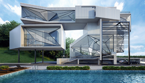 India Art n Design Global Hop : Aviator's 'floating' Villa | Architecture and interiors i love | Scoop.it