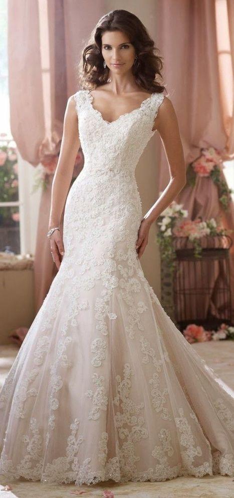 David Tutera for Mon Cheri 2014 Autumn Winter Wedding Dresses - Dresseseveryday   gbridal   Scoop.it