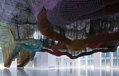 Ernesto Neto: 'Crazy Hyperculture in the Vertigo of the World' | Art Installations, Sculpture, Contemporary Art | Scoop.it