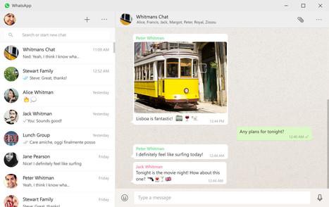 WhatsApp now has a desktop app for Windows and Mac | CiberOficina | Scoop.it