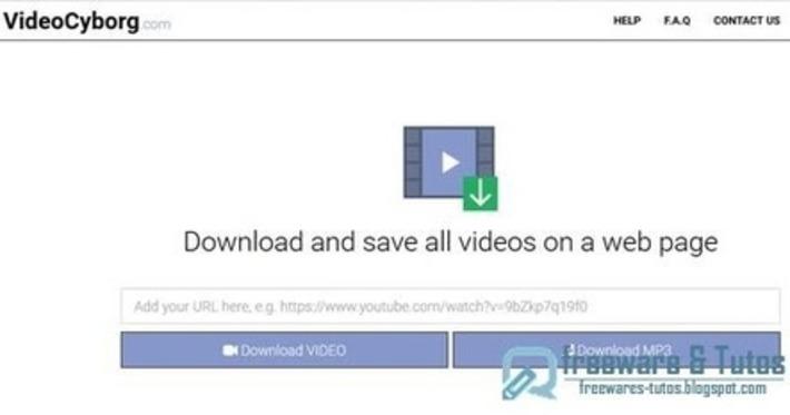VideoCyborg : un outil web pour télécharger les vidéos en MP4 ou MP3 ~ Freewares & Tutos | TIC et TICE mais... en français | Scoop.it