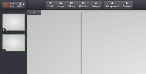 strut, una nueva forma de hacer presentaciones en la web | Educación y Tecnologías | Scoop.it