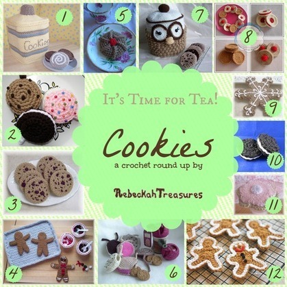 Cookies a Teatime Crochet Pattern Round Up | Crochet with Meladora's Creations | Scoop.it