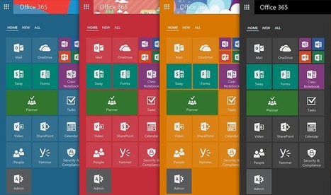 Introducing the new Office 365 App Launcher - Office Blogs | Sharepoint 2013 FR - OFFICE 365 - YAMMER | Scoop.it