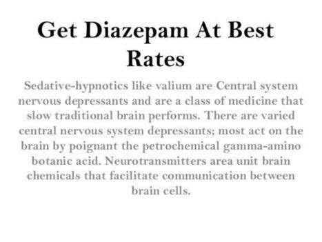 Get Diazepam Online Buy Valium | Buy Valium and Diazepam Online | Scoop.it