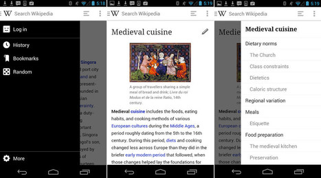 New Wikipedia Beta App Goes Native With UI Overhaul, Editing, and ... | My World Wideweb | Scoop.it