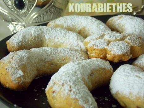 Petits fours grecs facile - Kourabiethes | L'info | Scoop.it