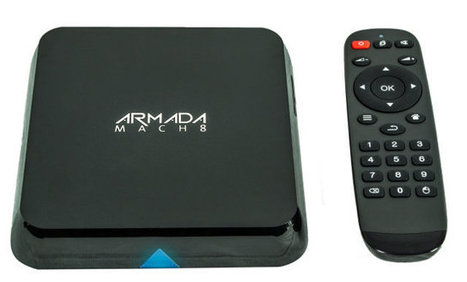 Armada Mach 8 Pure Linux is a Quad Core XBMC Linux TV Box | Embedded Systems News | Scoop.it