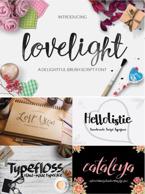 Free Fonts | Luxurious Font Bundle Lite | Design Freebies & Deals | Scoop.it