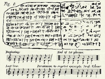 Listen to the Oldest Song in the World: A Sumerian Hymn Written 3,400 Years Ago | enjoy yourself | Scoop.it