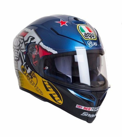 AGV are proud to announce the release of a new Guy Martin Replica Helmet | Motorcycle Industry News | Scoop.it