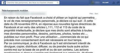 Désolé, les statuts Facebook pour protéger vos données ne valent rien | Toulouse networks | Scoop.it