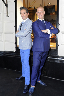 Santoni Toasts First Paris Boutique | Le Marche & Fashion | Scoop.it