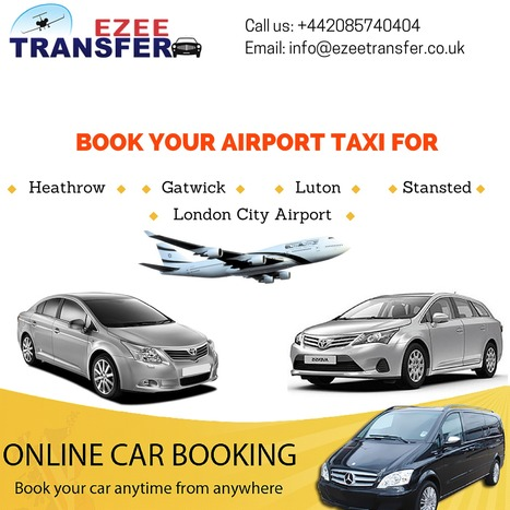 Ezee Transfer - Heathrow Airport Taxis & Minicabs | Airport Transfers UK | Scoop.it