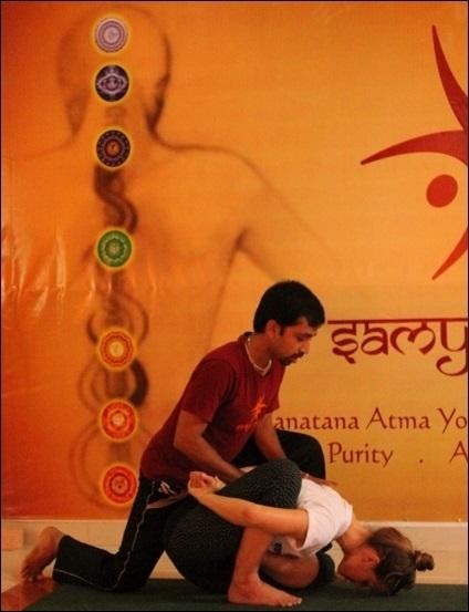 Yoga Teacher Training - Art of hands on Adjustments | Yoga Retreats in India | Scoop.it