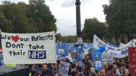 Junior doctors march over contract dispute - BBC News | Buss3 | Scoop.it