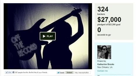 10 proyectos periodísticos que lograron financiamiento en Kickstarter | Periodismo Digital 2013 | Scoop.it