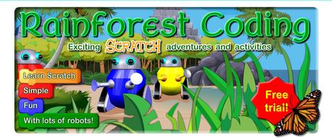 Rainforest Coding | Programmeren in het onderwijs | Scoop.it