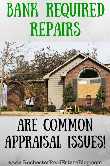 Common Issues With A Bank Appraisal In Real Estate | Real Estate | Scoop.it