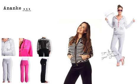 Découvrez les joggings glamour en éponge ou en molleton d'Ananke | Conseils et astuces mode femme ronde | Scoop.it