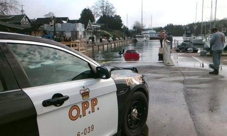Ontario woman follows car's GPS directions into Lake Huron, swims to shore | New media environment | Scoop.it