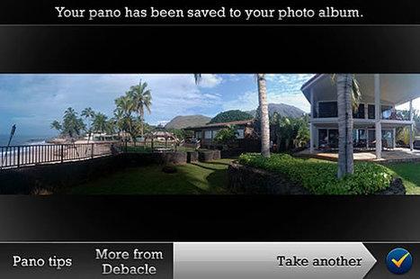 Faire des photos panoramiques à 360° avec son iPhone | Innovative mobile services | Scoop.it