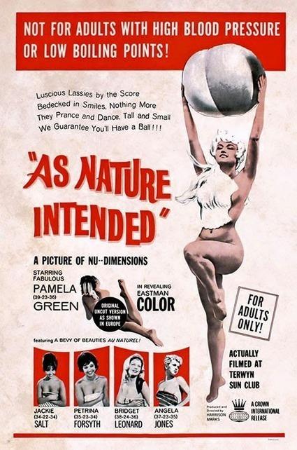 As Nature Intended (1961) DVDrip | Free Lust Movies | Download Free | FreeLustMovies.com | Scoop.it