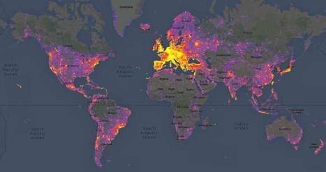 Hot Spots: Mapping the World's Most Photographed Locations | NYL - News YOU Like | Scoop.it