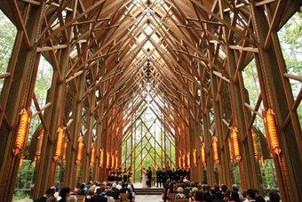 Anthony Chapel Complex - Wedding Chapel - Garvan Gardens - Arkansas, USA.   Magical Destination Wedding Venues   Scoop.it