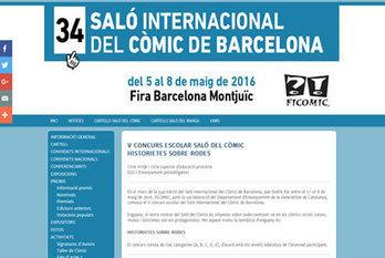Convocatòria V concurs escolar Saló del Còmic   EL BADIU del CRP   Scoop.it