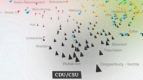 Mapping Electionland. by @moritz_stefaner | #dataviz #politics | e-Xploration | Scoop.it