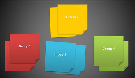 How to Create 3M Post It Images using PowerPoint 2010 | WEBOLUTION! | Scoop.it