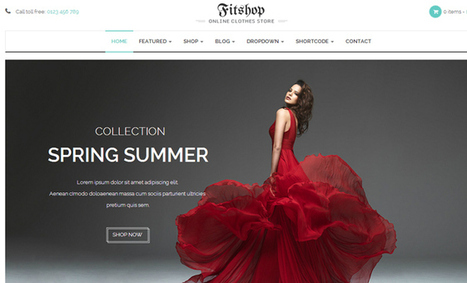 Current Design Trends for Digital Shops and E-commerce Websites - DesignM.ag | Webdesign Glance | Scoop.it