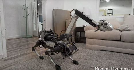 "New Boston Dynamics robot is adorable or terrifying or both | L'impresa ""mobile"" 