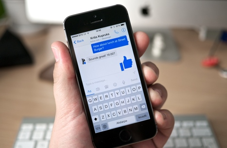 Facebook Messenger va vous imposer ses publicités via des bots ! - Ere Numérique | Smartphones et réseaux sociaux | Internet world | Scoop.it