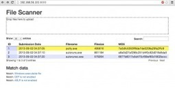 0xdabbad00.com » Blog Archive » File scanner web app (Part 1 of 5): Stand-up and webserver   opexxx   Scoop.it