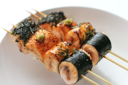 Delish Recipes: Yakitori (Skewered Chicken | Japanese) | Delish Recipe | Scoop.it