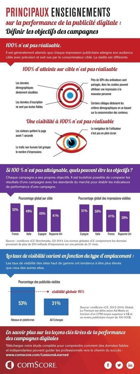 Infographie : la France championne du ciblage publicitaire | Ma veille sur internet | Scoop.it