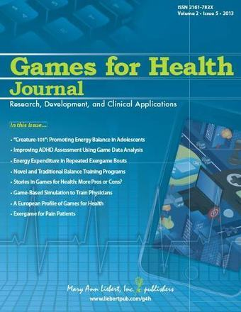 Games for Health Journal | The Odyssey of Media Psychology | Scoop.it