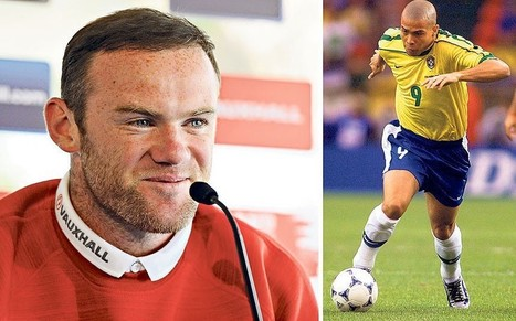 World Cup 2014: England's Wayne Rooney looks to the 'original' Ronaldo for ... - Telegraph.co.uk | World Cup Live | Scoop.it