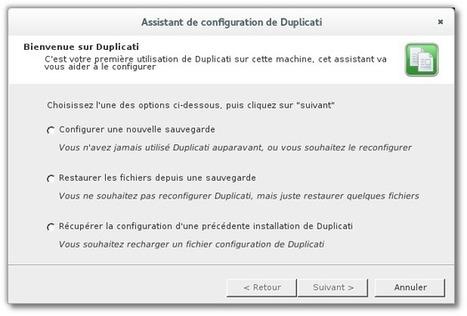 Duplicati – Un outil de sauvegarde pour GNU/Linux, Mac OS X et MS Windows | Time to Learn | Scoop.it