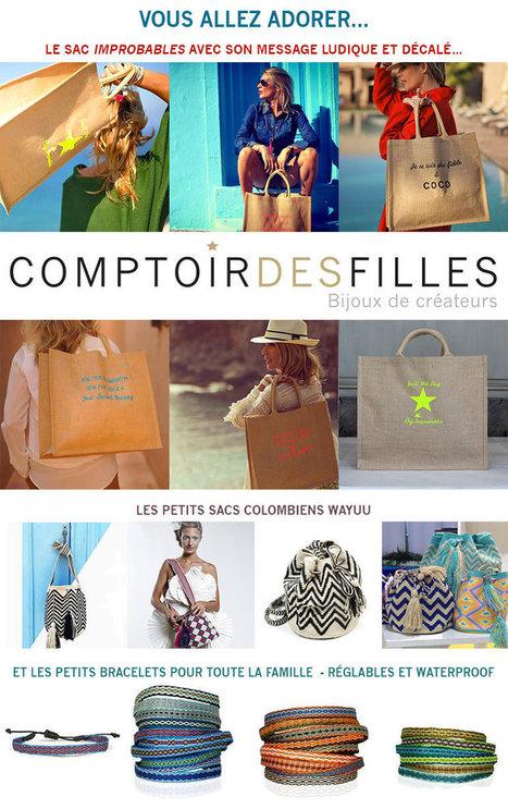 Vous allez adorer nos accessoires du Printemps - Comptoir des Filles | Comptoir des Filles | Scoop.it