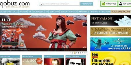 Qobuz, la start-up qui monte le son | The music industry in the digital context | Scoop.it