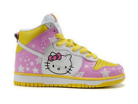 Nike SB Hello Kitty Shoes Dunks Girls Pink Yellow White [hello-kitty-shoes-1015] - $78.00 : DC Comic Dunks ,Marvel Comic Dunks, Superhero Nike Dunks Shoes ,Superman ,Batman ,Spiderman,Captain Ameri... | Hello Kitty Nike Dunks | Scoop.it