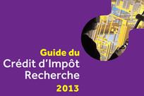 Le Guide du crédit d'impôt recherche 2013 est sorti | Financement de l'innovation | Scoop.it