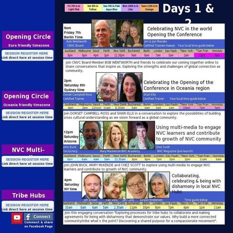 NVC Internet Conference Program  : simplebooklet.com | Radical Compassion | Scoop.it