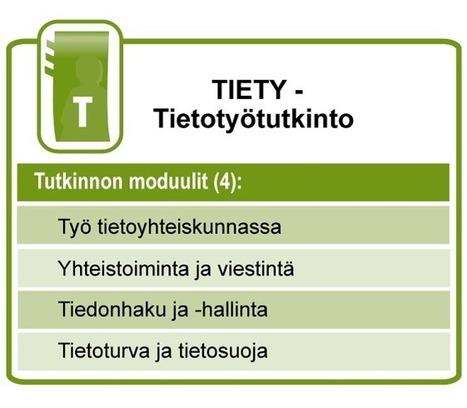 TIETY - Tietotyötutkinto - TIETY - Tietotyötutkinto -TIEKE | Ollin ikiomat | Scoop.it